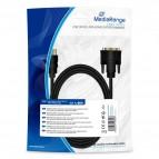 Cavo adattatore HDMI/microHDMI Mediarange - 2 m - nero - MRCS118