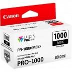 Originale Canon inkjet cartuccia PFI-1000MBK - 80 ml - nero opaco - 0545C001