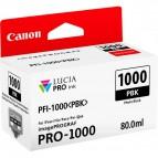 Originale Canon inkjet cartuccia PFI-1000PBK - 80 ml - nero fotografico - 0546C001
