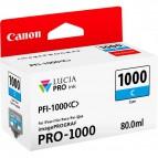 Originale Canon inkjet cartuccia PFI-1000C - 80 ml - ciano - 0547C001