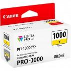 Originale Canon inkjet cartuccia PFI-1000Y - 80 ml - giallo - 0549C001
