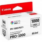 Originale Canon inkjet cartuccia PFI-1000PGY - 80 ml - grigio chiaro - 0553C001