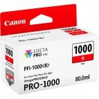 Originale Canon inkjet cartuccia PFI-1000R - 80 ml - rosso - 0554C001