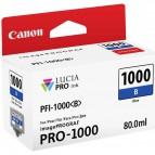 Originale Canon inkjet cartuccia PFI-1000B - 80 ml - blu - 0555C001