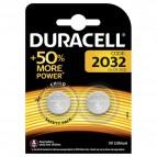 Pile Duracell Specialistiche - bottone litio - 2032 BL2 - 81575101 (conf. 2)