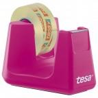 Dispenser per nastro adesivo Smart Tesa + 4nastri - fucsia - 53909-00000-00