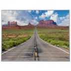 Quadro decorativo Paperflow - 60x80 cm - monument Valley - orizzontale - K900384
