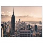 Quadro decorativo Paperflow - 60x80 cm - winter in New York - orizzontale - K900390
