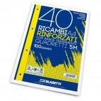 Ricambi rinforzati Blasetti - A4 - 5 mm - 100 g/mq - 5442 (conf.40)