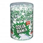 Barattolo caramelle Golia bianca liquirizia - 800 pz - 6731300