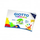 Album Kids A4 Giotto - carta per tecnica umida - 580400