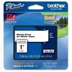 Brother - Nastro - Nero/Bianco - ZE251 - 24mm x 8mt
