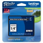 Brother - Nastro - Bianco/Nero - TZE315 - 6mm x 8mt