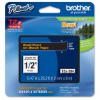 Brother - Nastro - Oro/Nero - TZE334 - 12mm x 8mt