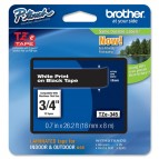 Brother - Nastro -  Bianco/Nero - TZE345 - 18mm x 8mt
