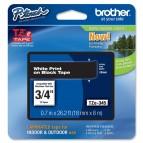 Brother - Nastro -  Bianco/Nero - TZE345 - 18mm x 8mt