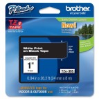 Brother - Nastro - Bianco/Nero - TZE355 - 24mm x 8mt