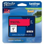 Brother - Nastro -  Nero/Rosso - TZE451 - 24mm x 8mt