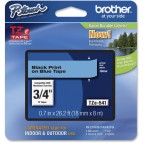 Brother - Nastro -  Bianco/Blu - TZE541 - 18mm x 8mt
