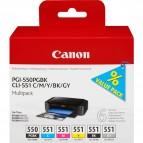 Canon - Cartucce ink - C/M/Y/K/GR - 6496B005