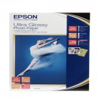 Epson - Ultra Glossy Photo Paper - 10x15cm - 50 Fogli - C13S041943