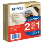 Epson - Premium Glossy Photo Paper - 10x15cm - 2x 40 Fogli - C13S042167