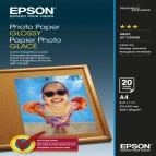 Epson - Photo Paper Glossy - A4 - 20 Fogli - C13S042538