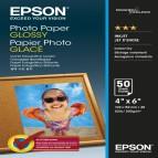 Epson - Photo Paper Glossy - 10x15cm - 50 Fogli - C13S042547
