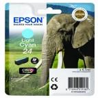 Epson - Cartuccia ink - 24 - Ciano chiaro - C13T24254012 - 5,1ml