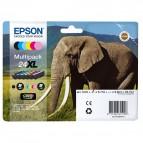 Epson - Cartuccia ink - 24XL - C/M/Y/C CH/M CH/K - C13T24384011 - C/M/Y 8,7ml - C CH/M CH 9,8ml - K 10ml
