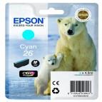 Epson - Cartuccia ink - 26 - Ciano - C13T26124012  - 4,5ml