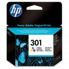 Hp - Cartuccia ink - 301 - C/M/Y - CH562EE - 165 pag