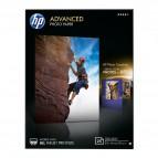 Hp - Confezione da 25 Fogli Carta fotografica lucida 13 x 18 cm senza margini Hp Advanced - Q8696A
