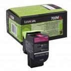 Lexmark/Ibm - Toner - Magenta - 70C20M0 - return program - 1.000 pag