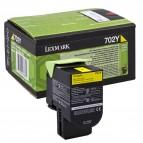 Lexmark/Ibm - Toner - Giallo - 70C20Y0 - return program - 1.000 pag