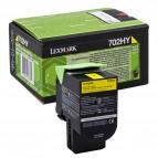 Lexmark/Ibm - Toner - Giallo - 70C2HY0 - return program - 3.000 pag