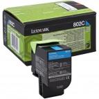 Lexmark/Ibm - Toner - Ciano - 80C20C0 - return program - 1.000 pag