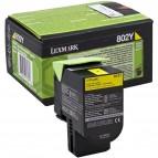 Lexmark/Ibm - Toner - Giallo - 80C20Y0 - return program - 1.000 pag