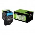 Lexmark/Ibm - Toner - Ciano - 80C2HC0 - return program - 3.000 pag