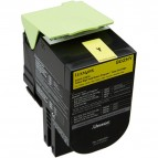 Lexmark/Ibm - Toner - Giallo - 80C20Y0 - return program - 4.000 pag