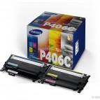 Hp/Samsung - Multipack 4 Toner - C/M/Y/K - CLTP406C/ELS