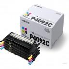 Hp/Samsung - Scatola 4 Toner - C/M/Y/K - CLTP4092C/ELS - C/M/Y 1.000 pag / K 1.500 pag