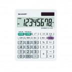 Calcolatrice da tavolo EL 310W - 8 cifre - Bianco - Sharp - EL310W