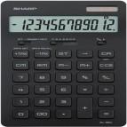 Calcolatrice da tavolo EL 364 - 176x100x13 mm - 12 cifre - Nero - Sharp - EL364BBK