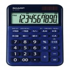 Calcolatrice da tavolo EL M335 - 10 cifre - Blu - Sharp - ELM335 BBL