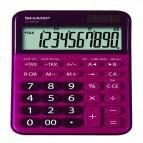 Calcolatrice da tavolo EL M335 - 10 cifre - Rosso - Sharp - ELM335 BRD