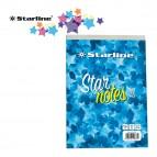 Blocco note StarNotes A5 - 60 fogli - 5 mm - 150 x 210 mm - 60 gr - Starline