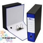 Registratore Starbox sfuso - dorso 8 cm - protocollo 23x33 cm - blu - Starline