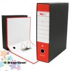 Registratore Starbox - dorso 8 cm - protocollo 23x33 cm - rosso - Starline