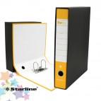 Registratore Starbox sfuso - dorso 5 cm - protocollo 23x33 cm - giallo - Starline
